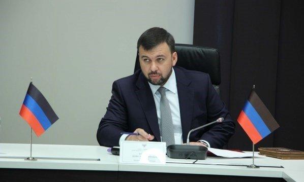 Денис Пушилин\фото - новости ДНР