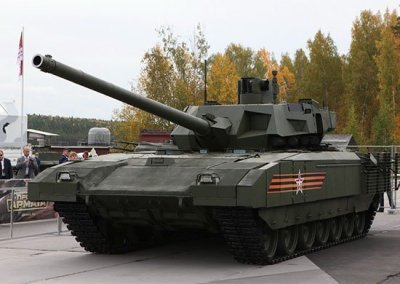 Новейший российский танк T-14 «Армата» начнёт поступать в войска в 2020  году