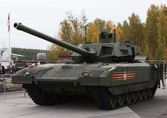 Танк Т-14 Армата\ фото- минобороны РФ