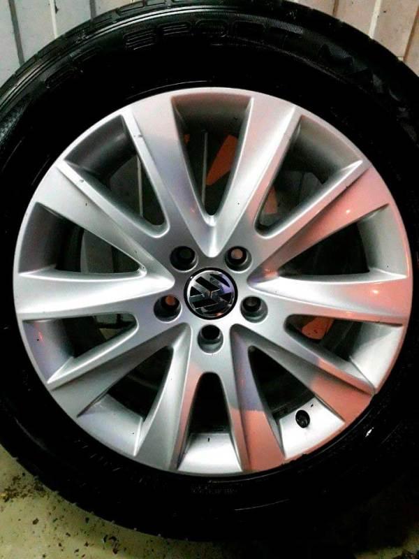 Летние колёса на VolkswagenTiguan