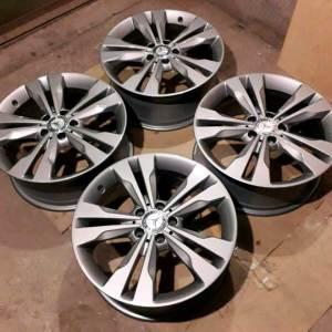 Литые диски R18 Mercedes Benz