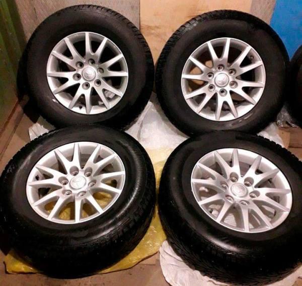 Зимние колеса R17 Mitsubishi Pajero Sport