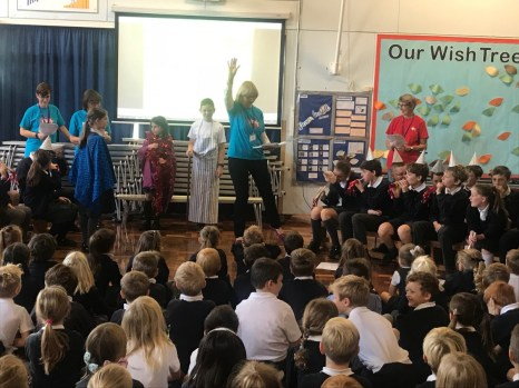 Messy Church Assembly - Oct 2018