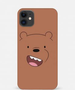 Brown Bear iPhone 12 Mini Mobile Cover