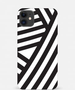 Cross Stripes iPhone 12 Mini Mobile Cover