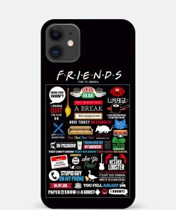 FRIENDS iPhone 12 Mini Mobile Cover