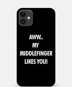 Middle Finger iPhone 12 Mini Mobile Cover