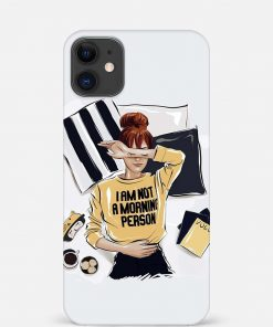 Morning Person iPhone 12 Mini Mobile Cover