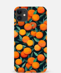 Oranges iPhone 12 Mini Mobile Cover