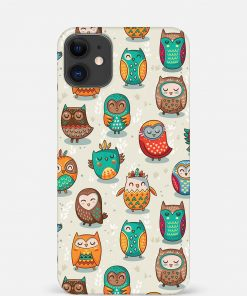 Owls iPhone 12 Mini Mobile Cover