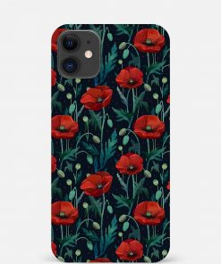 Red Poppies iPhone 12 Mini Mobile Cover