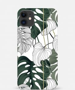 Vintage Leaves iPhone 12 Mini Mobile Cover