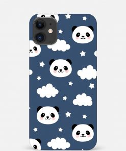 Cute Panda iPhone 12 Mini Mobile Cover