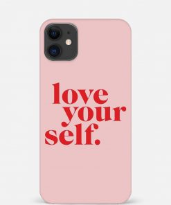 Love Yourself iPhone 12 Mini Mobile Cover