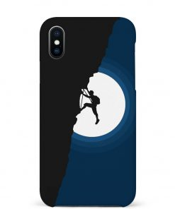 Climbing iPhone Xs Max Mobile Cover