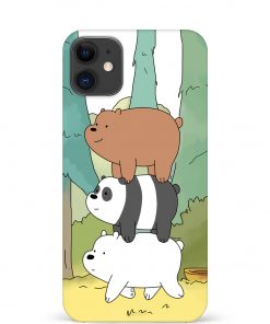 Three Bears iPhone 12 Mini Mobile Cover