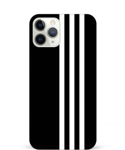 White Stripe iPhone 11 Pro Max Mobile Cover