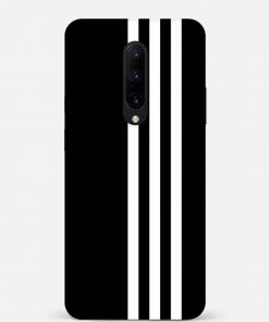 White Stripe Oneplus 7 Pro Mobile Cover