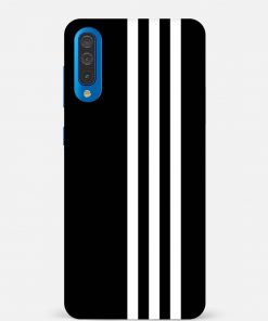 White Stripe Samsung Galaxy A50 Mobile Cover