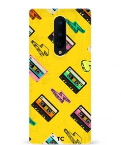 Cassette Oneplus 8 Mobile Cover