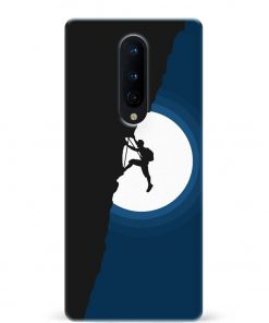 Climbing Oneplus 8 Mobile Cover