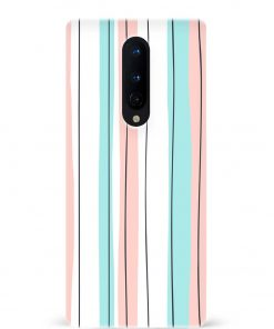 Colorful Stripes Oneplus 8 Mobile Cover
