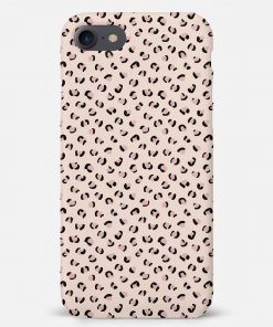 Nude Leopard iPhone 8 Mobile Cover