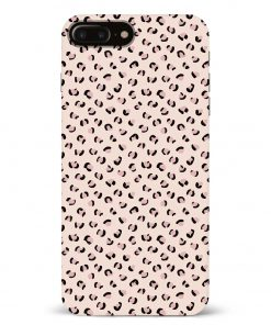 Nude Leopard iPhone 8 Plus Mobile Cover