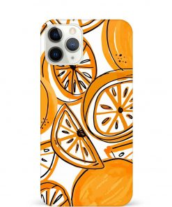 Orange Doodle iPhone 11 Pro Max Mobile Cover