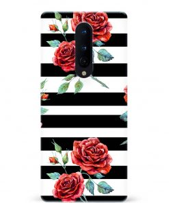 Rose Oneplus 8 Mobile Cover