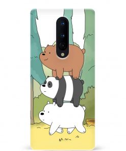 Three Bears Oneplus 8 Mobile Cover