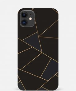 Golden Lines iPhone 12 Mini Mobile Cover