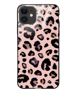 Leopard Pattern iPhone 12 Glass Case Cover