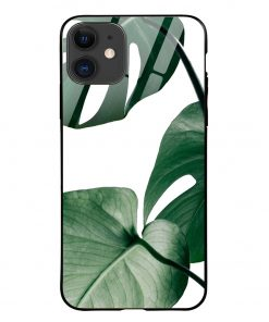 Monstera iPhone 12 Glass Case Cover