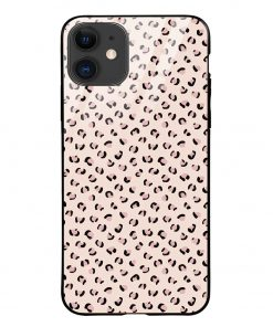 Nude Leopard iPhone 12 Glass Case Cover
