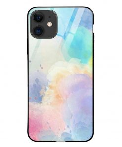 Paint Colors iPhone 12 Glass Case Cover