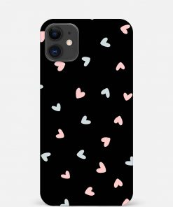 Pastel Hearts iPhone 12 Mini Mobile Cover