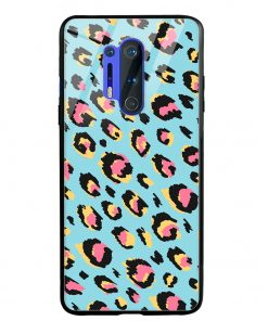 Animal Pattern Oneplus 8 Pro Glass Case Cover