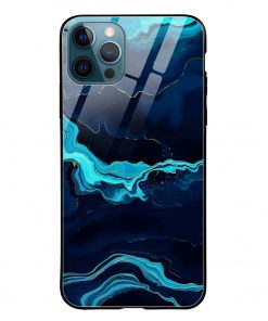 Blue Marble iPhone 12 Pro Max Glass Case Cover