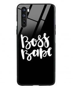 Boss Babe Oneplus Nord Glass Case Cover