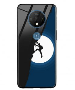 Climbing Oneplus 7T Glass Case Cover