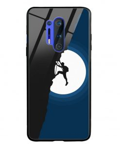 Climbing Oneplus 8 Pro Glass Case Cover