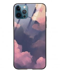 Clouds iPhone 12 Pro Max Glass Case Cover