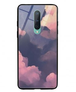Clouds Oneplus 8 Glass Case Cover