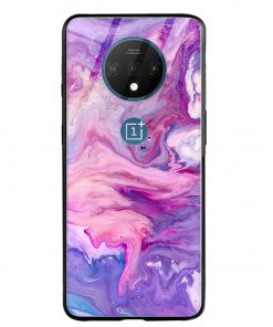 Fantasy Colors Oneplus 7T Glass Case Cover