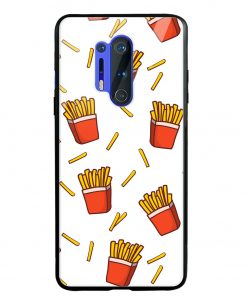 Fries Oneplus 8 Pro Glass Case Cover