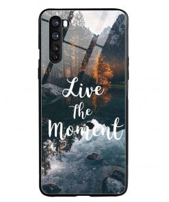 Live The Moment Oneplus Nord Glass Case Cover