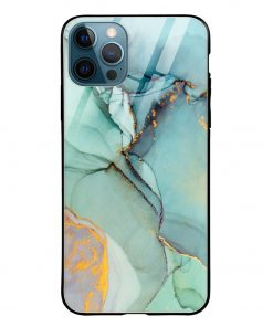Oil Paint iPhone 12 Pro Max Glass Case Cover