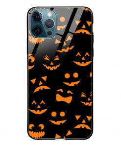 Halloween iPhone 12 Pro Max Glass Case Cover