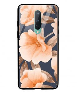 Watercolor Floral Oneplus 8 Glass Case Cover